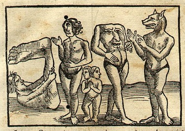 Illustration from Sebastian Münster's Cosmographia