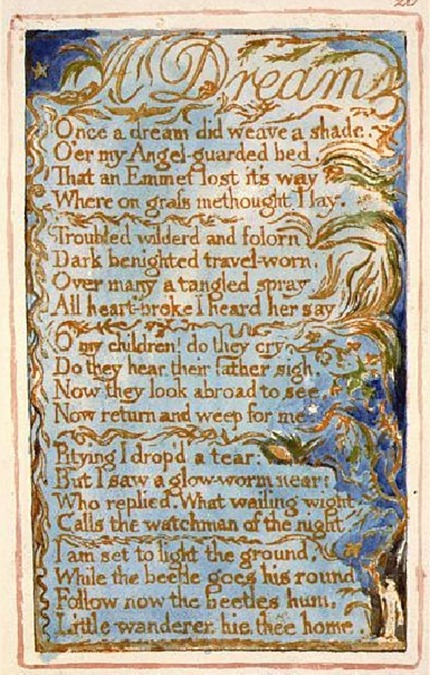 William Blake - A Dream